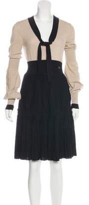 Chanel Wool A-Line Dress