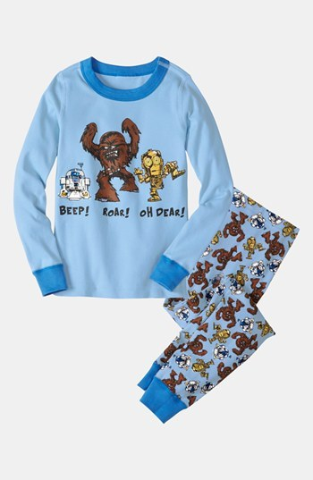 Hanna Andersson 'Star WarsTM Beep! Roar! Oh Dear!' Fitted Pajamas (Little Boys & Big Boys)