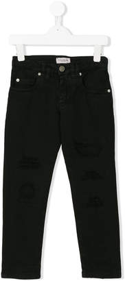 Paolo Pecora Kids skinny fit trousers