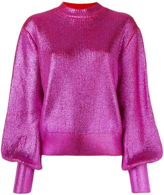 MSGM bell sleeves jumper