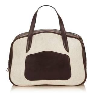 Hermes Cloth handbag