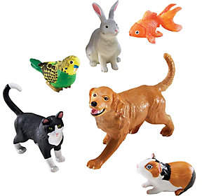 Learning Resources Jumbo Animals - Domestic Pets by Learning Reso
