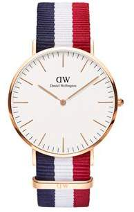 Daniel Wellington Classic Cambridge Rose Gold Watch