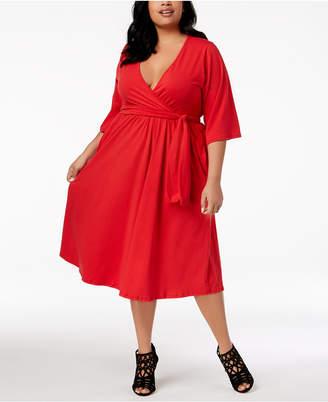 Plus Size Skater Dress Shopstyle