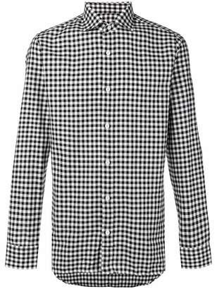 Ermenegildo Zegna Diego gingham buttoned shirt