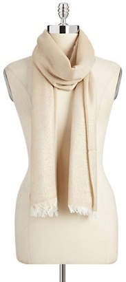 Lord & Taylor Solid Lurex Scarf
