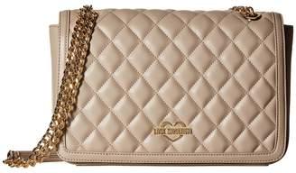 Love Moschino Quilted Crossbody Chain Strap Cross Body Handbags