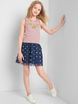 GapKids | Wonder Woman twist-back tank dress $39.95 thestylecure.com