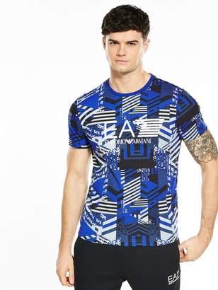 Emporio Armani Ea7 Visibility Graphic T-shirt