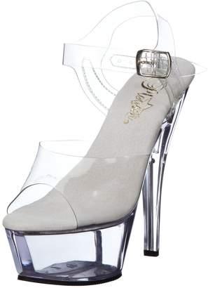 Pleaser USA Women's Kiss208/C/M Platform Sandal