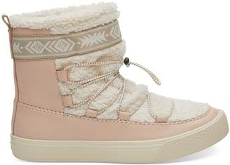 Dark Blush Leather Women's Alpine Boots