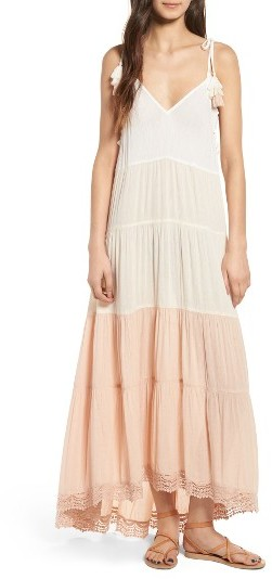 Women's Sun & Shadow Colorblock Maxi Dress