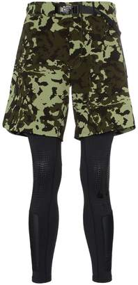 Nike X 1017 Alyx 9SM MMW two-part camouflage shorts and leggings