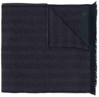 Canali chevron scarf