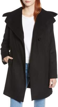Sam Edelman Shawl Collar Hooded Coat