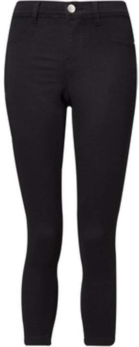 Womens Petite Black 'Frankie' Jeans