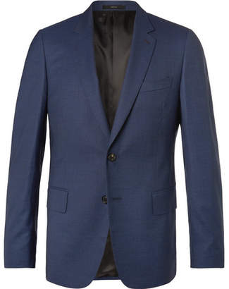Paul Smith Soho Puppytooth Wool And Silk-Blend Suit Jacket