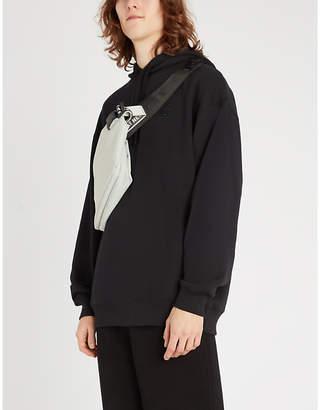 Acne Studios Farrin logo-patch cotton-jersey hoody