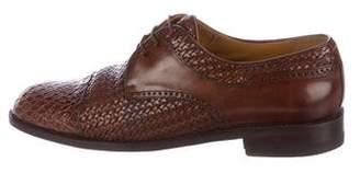 Mezlan Salinas Crocodile Derby Shoes