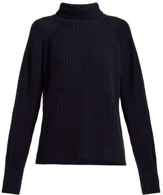 Nili Lotan Auburn Roll Neck Cashmere Sweater - Womens - Navy
