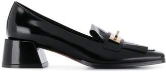 Roberto Festa varnished finish loafers