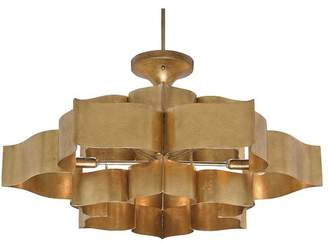 Pottery Barn Foundry Chandelier