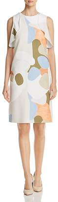 Lafayette 148 New York Kaydence Print Shift Dress
