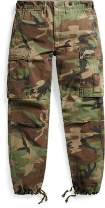 Ralph Lauren Camo Cotton Surplus Cargo Pant