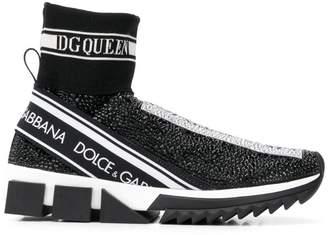 Dolce & Gabbana sock-style sneakers