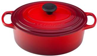 Le Creuset Signature 5 Quart Oval Enamel Cast Iron French/Dutch Oven