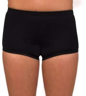Danskin Women's Solid Boy-Cut Shorts