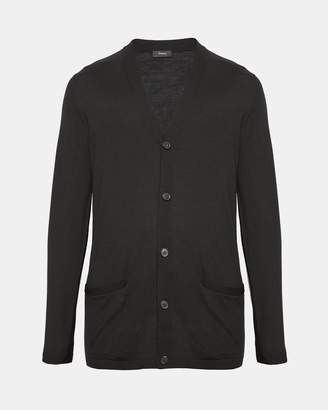 Theory Wool Relaxed Cardigan