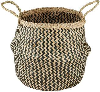 Nkuku Ekuri Basket - Black/Natural - Small