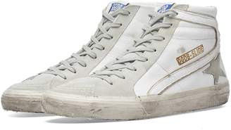 Golden Goose Slide Leather & Suede Sneaker