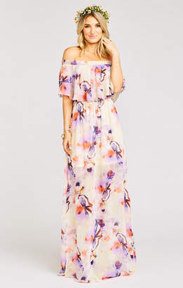 Show Me Your Mumu Hacienda Maxi Dress ~ Abers Babers