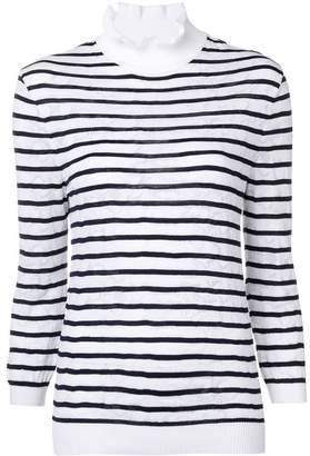 Chloé ruffle collar knitted jumper