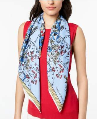 Vince Camuto Floral Twill Square Scarf