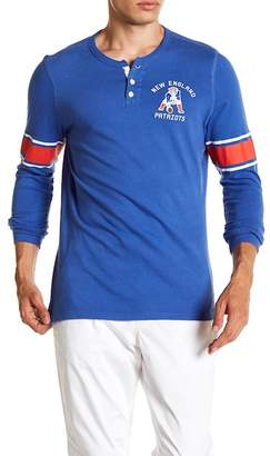 Junk Food Clothing New England Patriots Huddle Henley Shirt