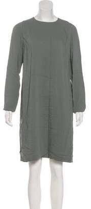 Calvin Klein Collection Long Sleeve Knee-Length Dress