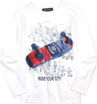 Mayoral Junior Boy's T-shirt with Skateboard Print, Sizes-16