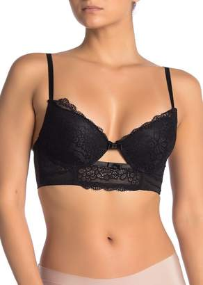 SECRET LACE Underwire Long Line Demi Bra