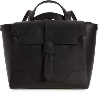 Senreve Maestra Textured Leather Satchel