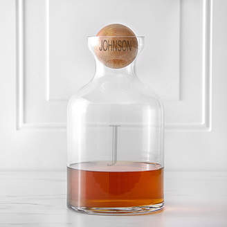 Cathy's Concepts CATHYS CONCEPTS Personalized Whiskey Decanter with Wood Stopper