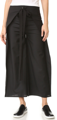 MM6 Tied Culottes $365 thestylecure.com