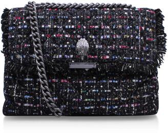 Kurt Geiger LONDON Tweed Lg Kensington Bag