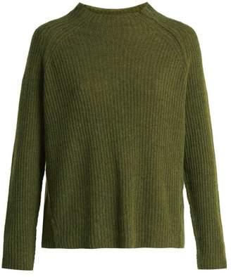 Nili Lotan Rylan cashmere ribbed-knit sweater