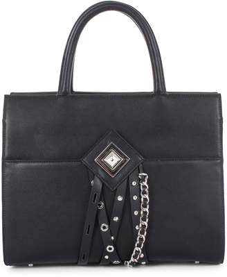 Celine Dion Legato Faux Leather Satchel