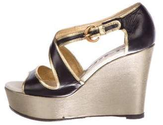Rochas Crossover Platform Wedges