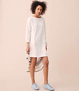 Lou & Grey Pocket Sweatshirt Dress