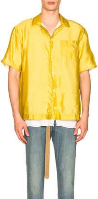 Sacai Silk Grid Shirt